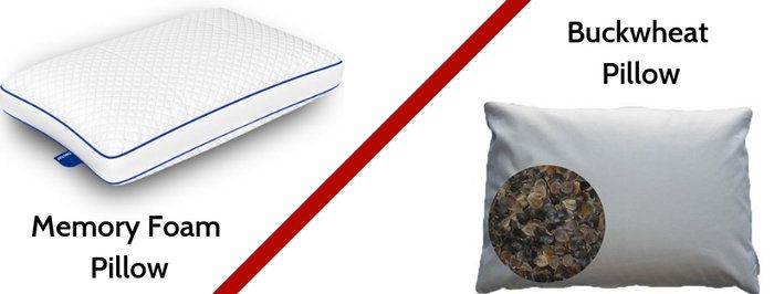 Memory Foam Vs Buckwheat Pillow